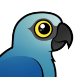 Birdorable Spix's Macaw