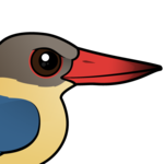 Birdorable Stork-billed Kingfisher