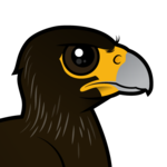 Birdorable Striated Caracara