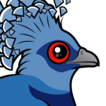 Birdorable Victoria Crowned Pigeon