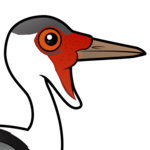 Birdorable Wattled Crane