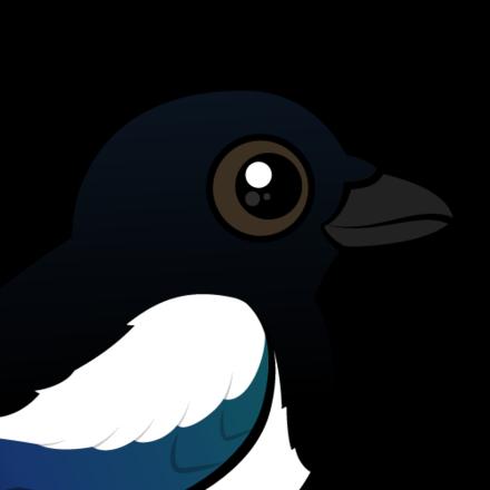 Birdorable Eurasian Magpie