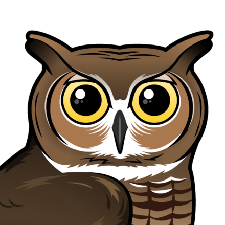 Great Horned Owl Coloring Fun