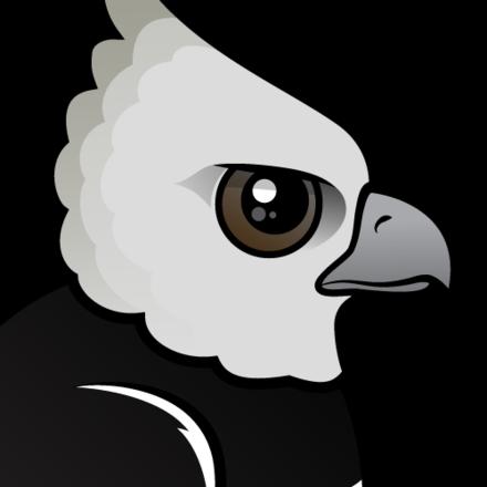 cute harpy eagle by birdorable meet the birds