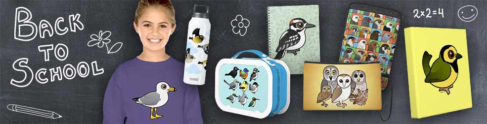 Back to School with Birdorable