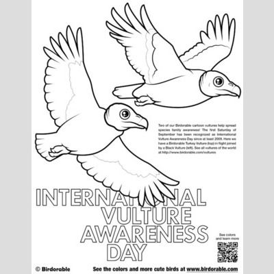 International Vulture Awareness Day Coloring Page sample