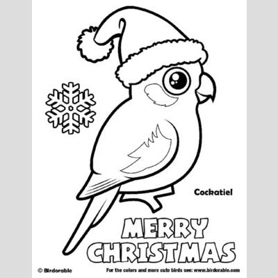 Cute Bird Coloring Pages page 3 by Birdorable  Free Downloads