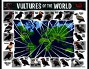 Vultures of the World Map