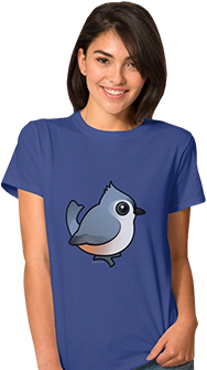Birdorable Tufted Titmouse Women's T-Shirt