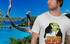 T-Shirt Tuesday: Toucans Are Better Than One