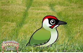 Bonanza Bird #2: The Green Woodpecker, The Green Anteater