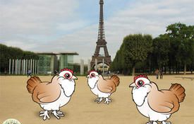 12 Days of Birdorable: Three French Hens