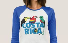 T-Shirt Tuesday: Birds of Costa Rica