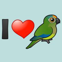 I Love Peach-fronted Conures