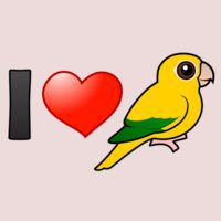 I Love Golden Conures