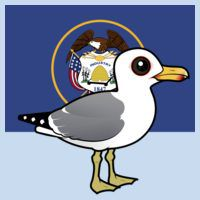 State Birdorable of Utah: California Gull