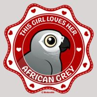 This Girl Loves Her African Grey