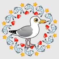 Herring Gull Circle of Love