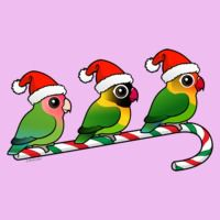 Lovebird Candy Cane