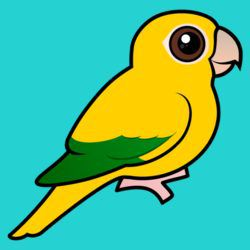Birdorable Golden Parakeet