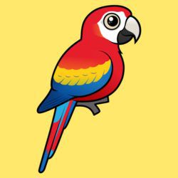 Birdorable Scarlet Macaw