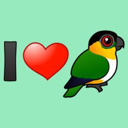I Love Black-headed Parrots