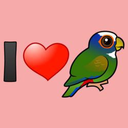 I Love White-crowned Parrots