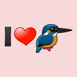 I Love Kingfishers