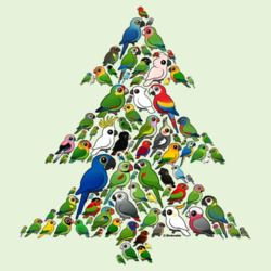 Parrot Christmas Tree