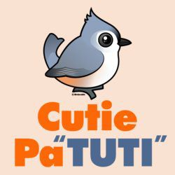 Cutie PaTUTI Tufted Titmouse