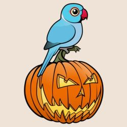 Blue Indian Ringneck Halloween
