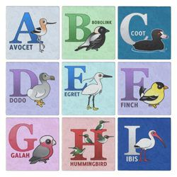 Birdorable Alphabet Sets