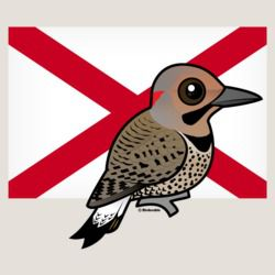 State Birdorable of Alabama: Northern Flicker