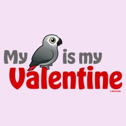 My African Grey Is My Valentine