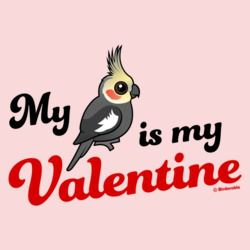 My Cockatiel Is My Valentine