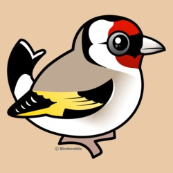 Birdorable European Goldfinch