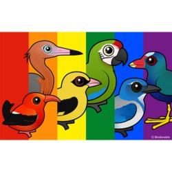 Birdorable Pride Flag