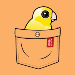Yellow Pocket Parrot
