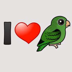 I Love Barred Parakeets