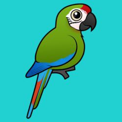 Birdorable Great Green Macaw