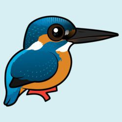 Customizable Common Kingfisher