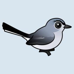 Birdorable Blue-gray Gnatcatcher