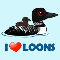 I Love Common Loons