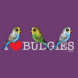 I Love Budgies