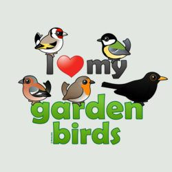 I Love My Garden Birds