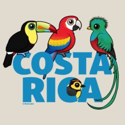 Birdorable Costa Rica