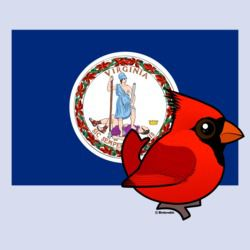 State Birdorable of Virginia: Northern Cardinal