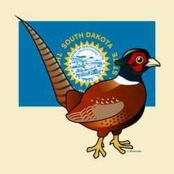 State Birdorable of South Dakota: Common Pheasant