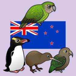 New Zealand Birdorables