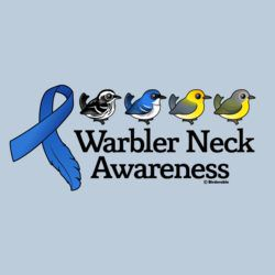 Warbler Neck Awareness Ribbon